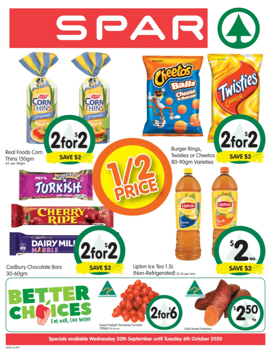 Spar Catalogues from September 30