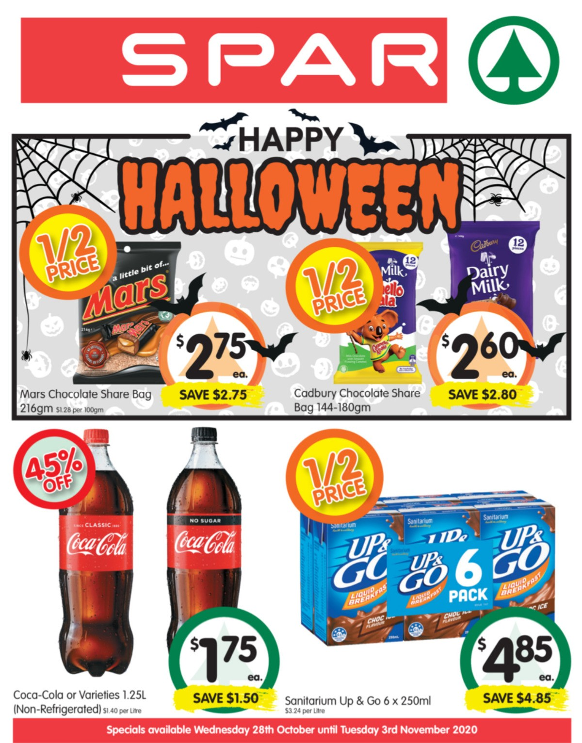 Spar Catalogues from October 28