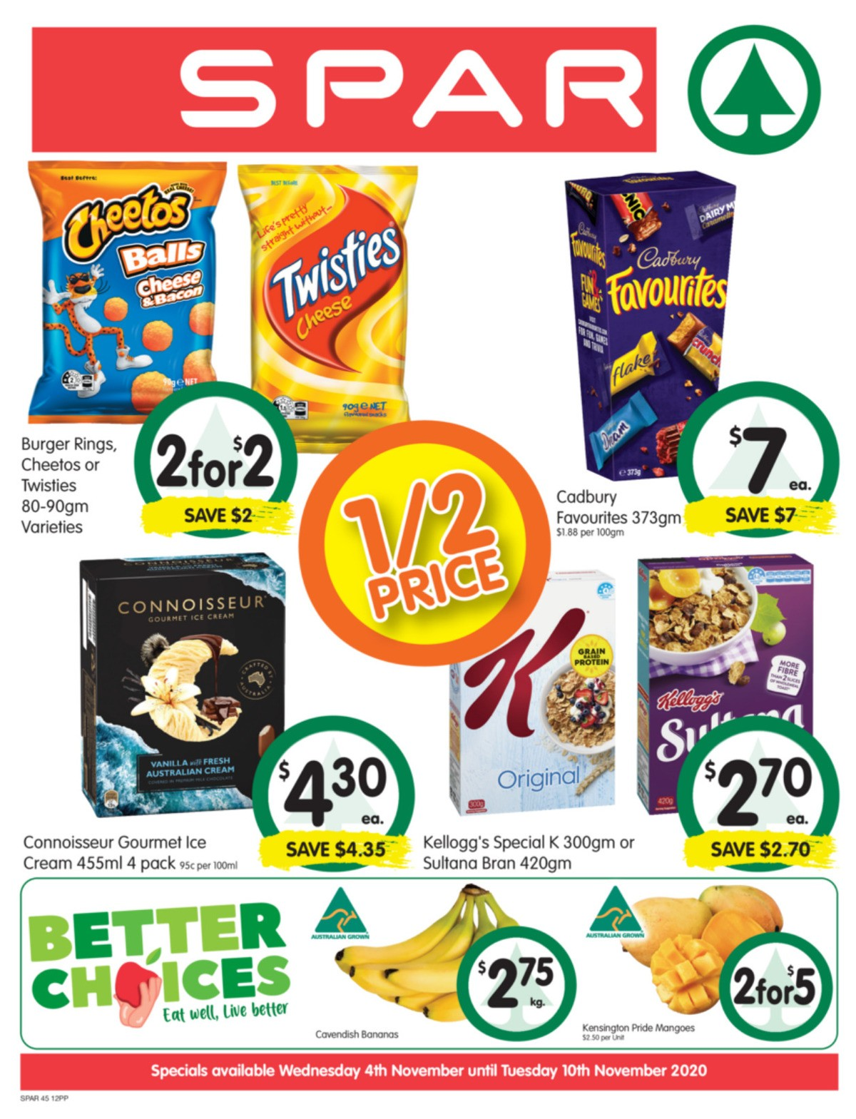 Spar Catalogues from November 4