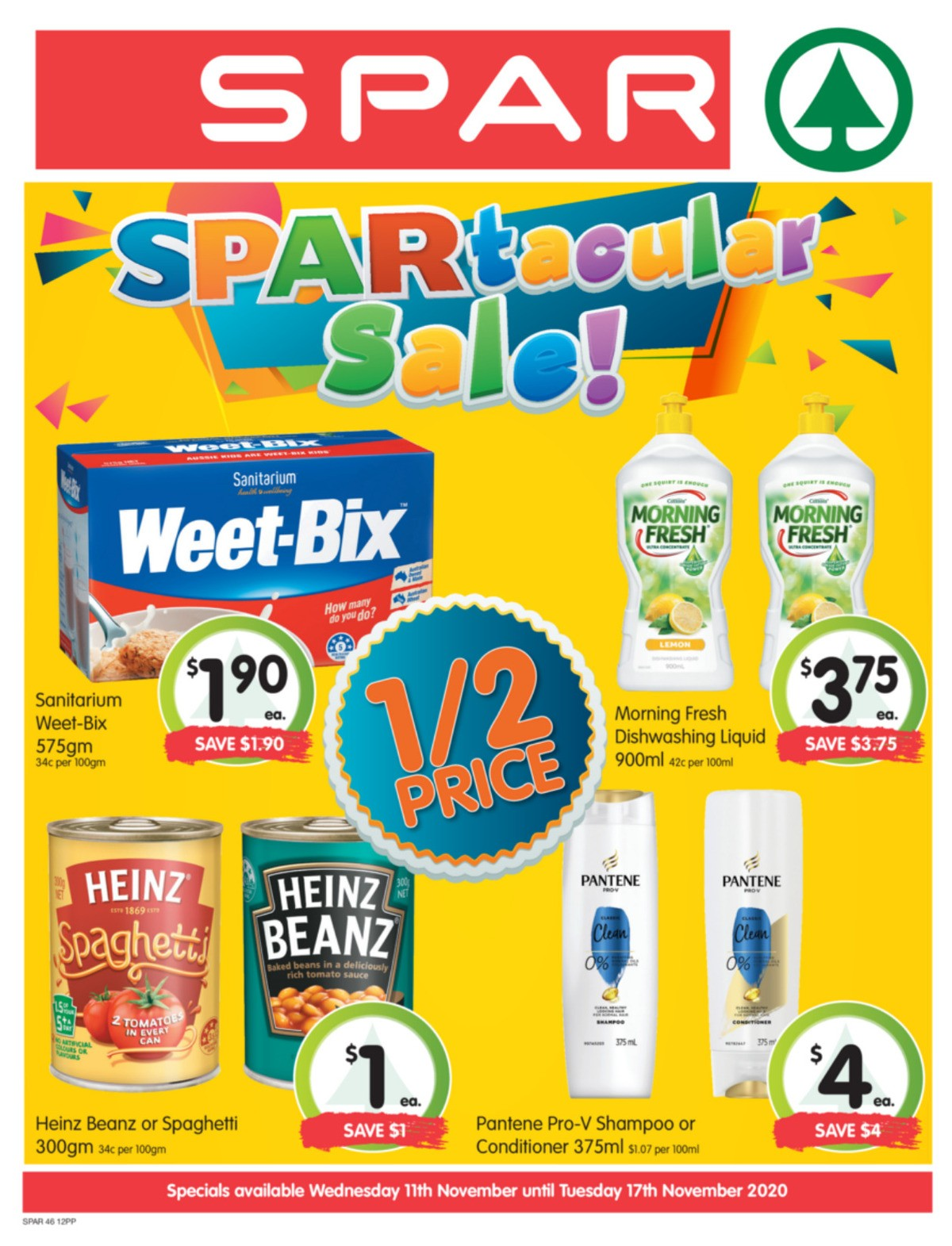 Spar Catalogues from November 11