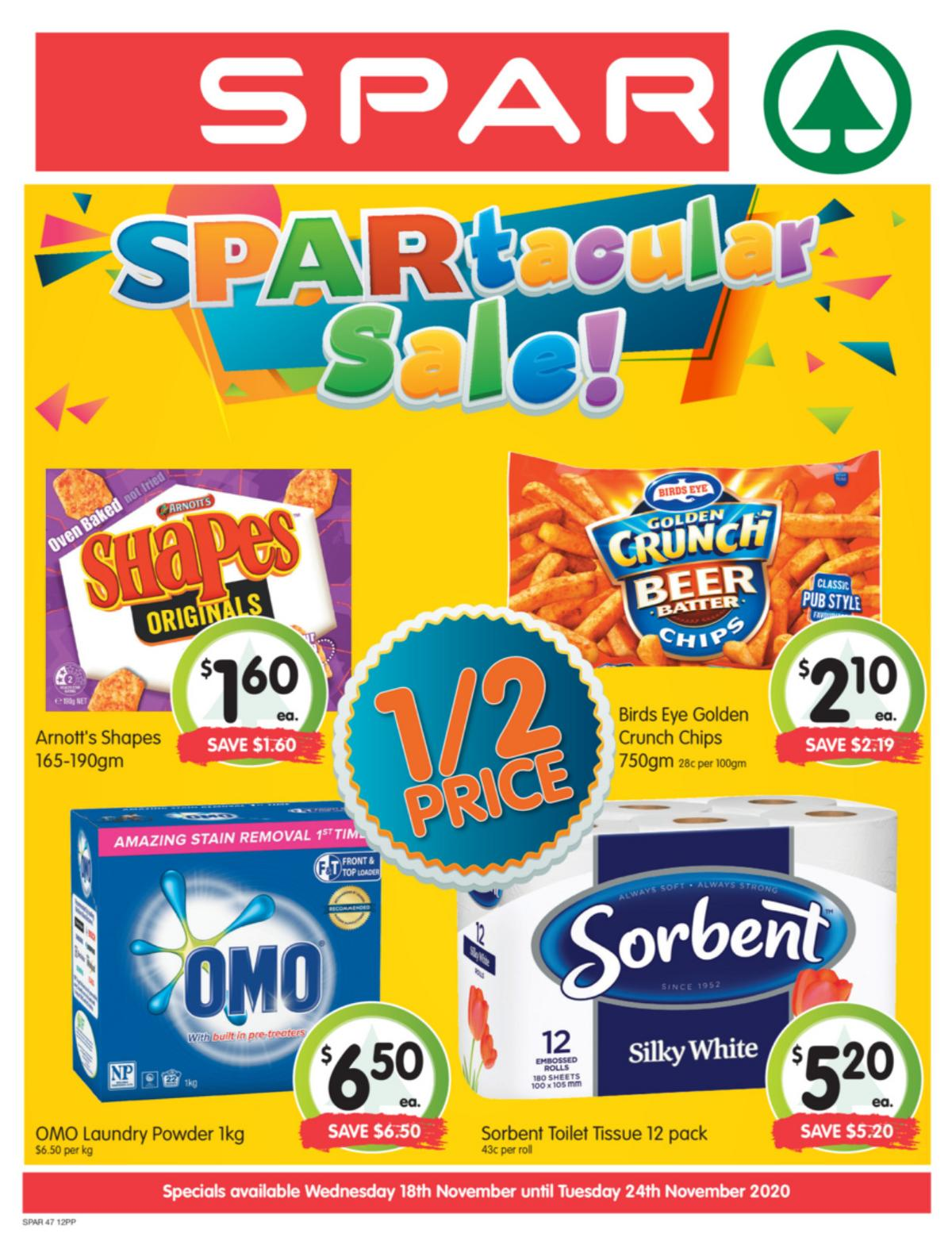 Spar Catalogues from November 18
