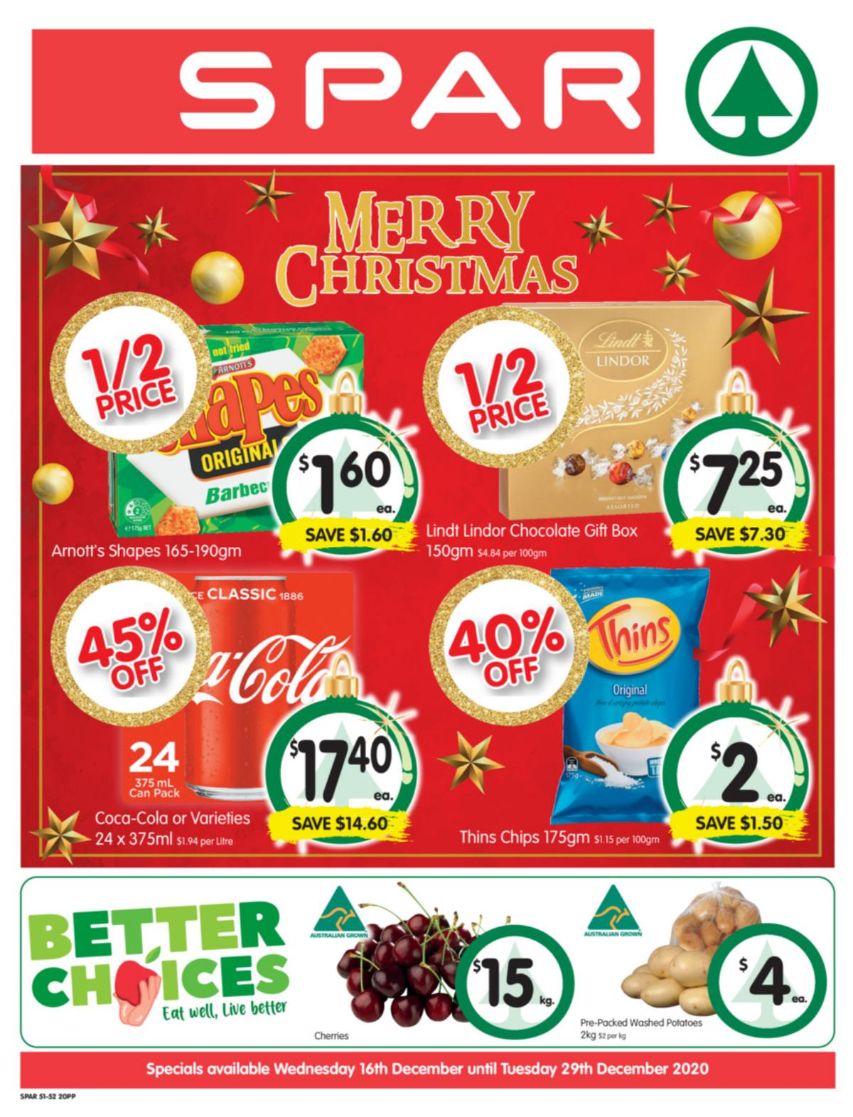 Spar Catalogues from December 16