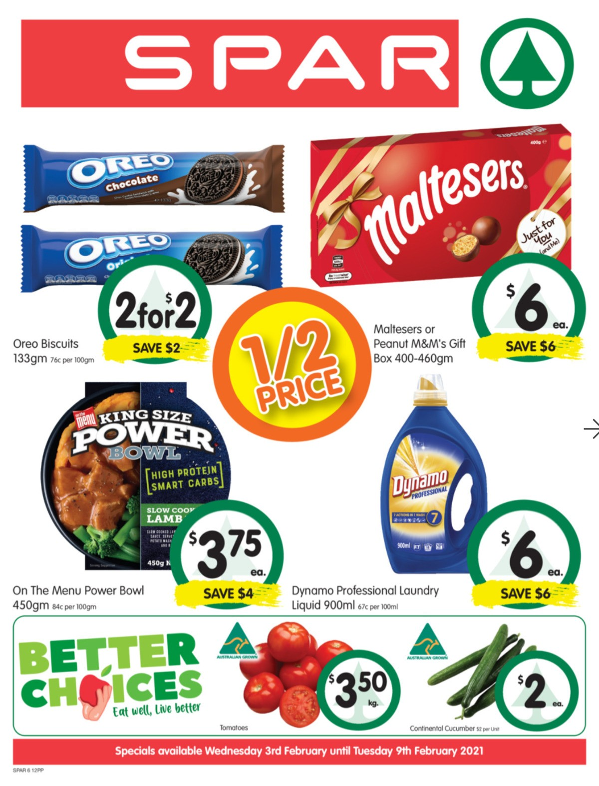 Spar Catalogues from February 3