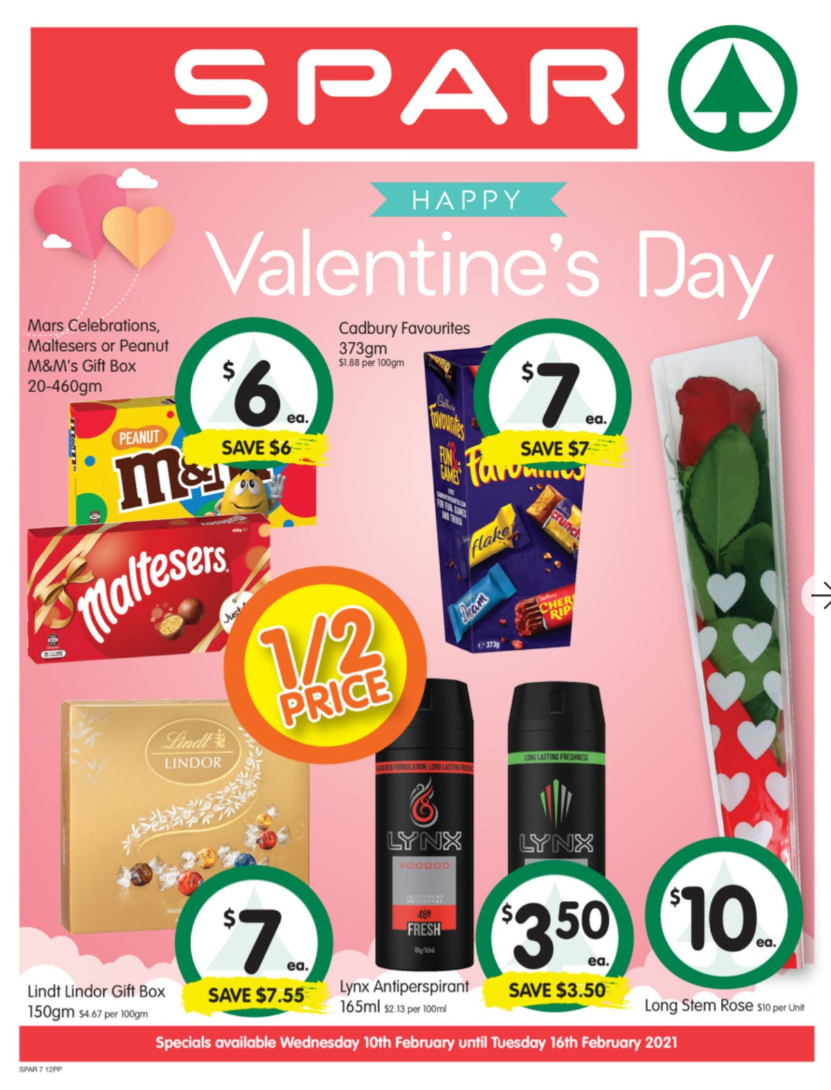 Spar Catalogues from February 10