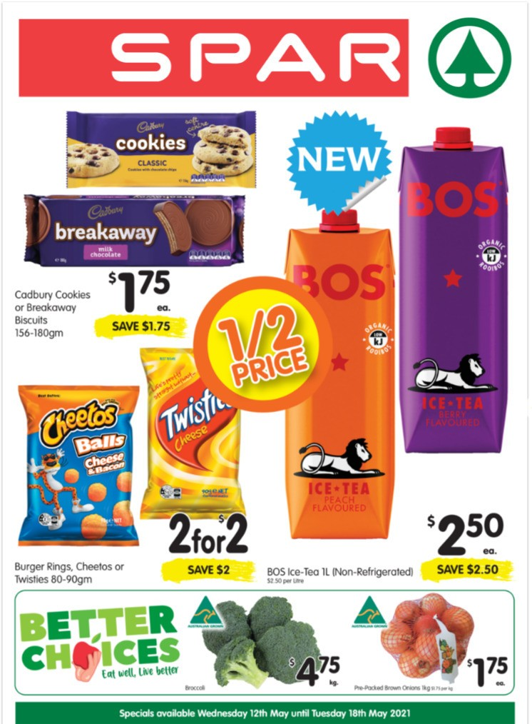 Spar Catalogues from May 12