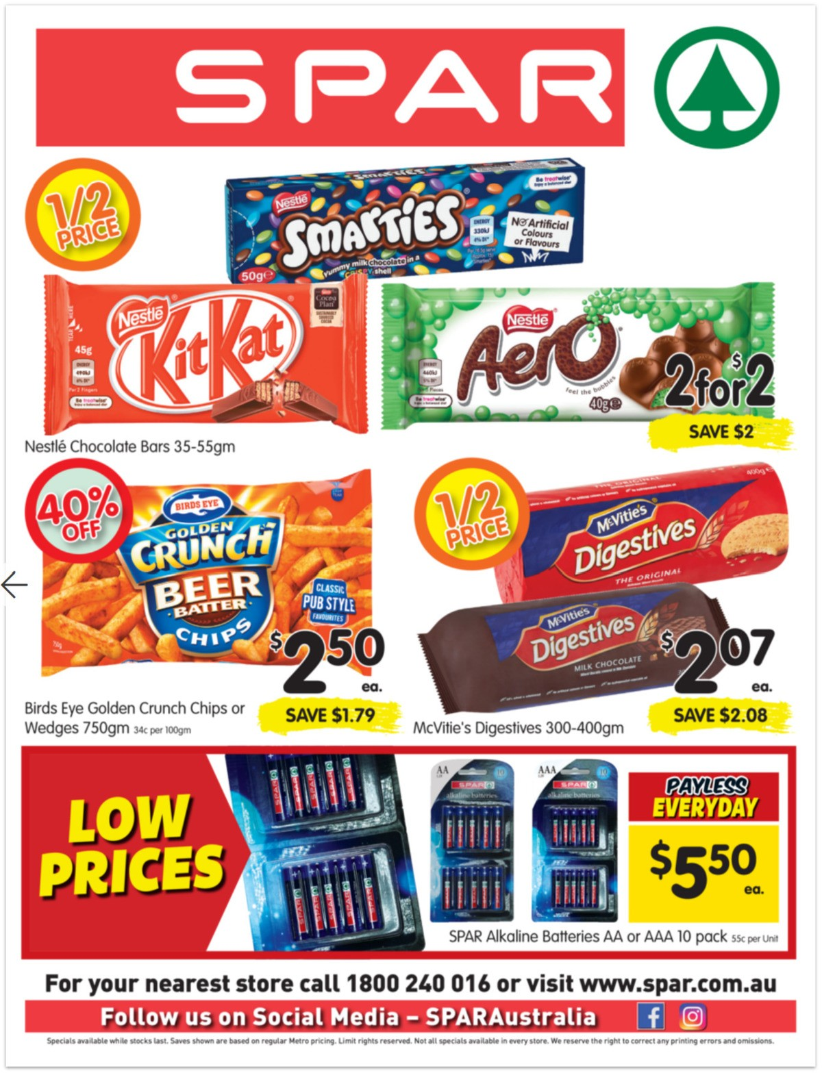 Spar Catalogues from June 9