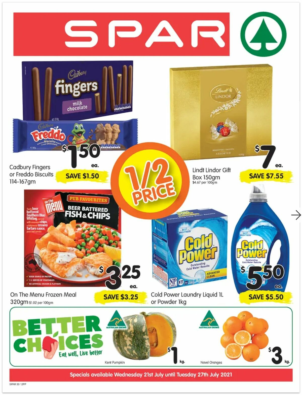 Spar Catalogues from July 21