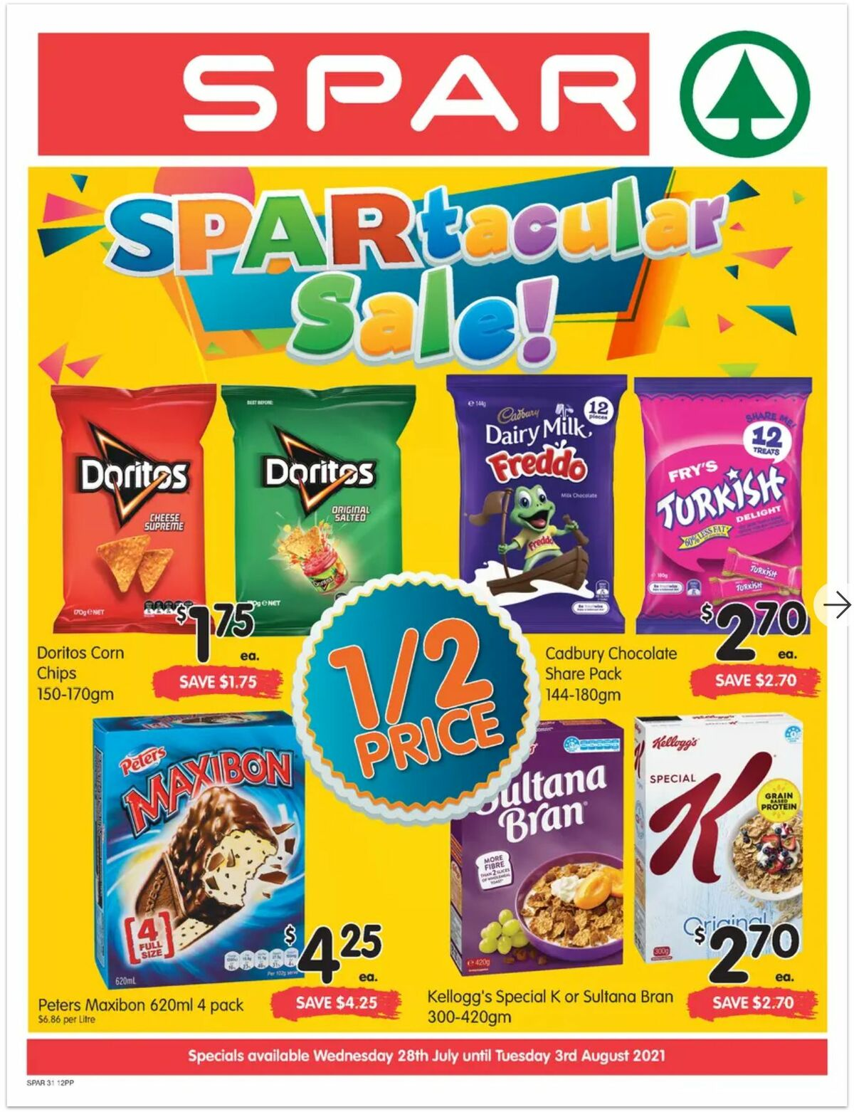 Spar Catalogues from July 28