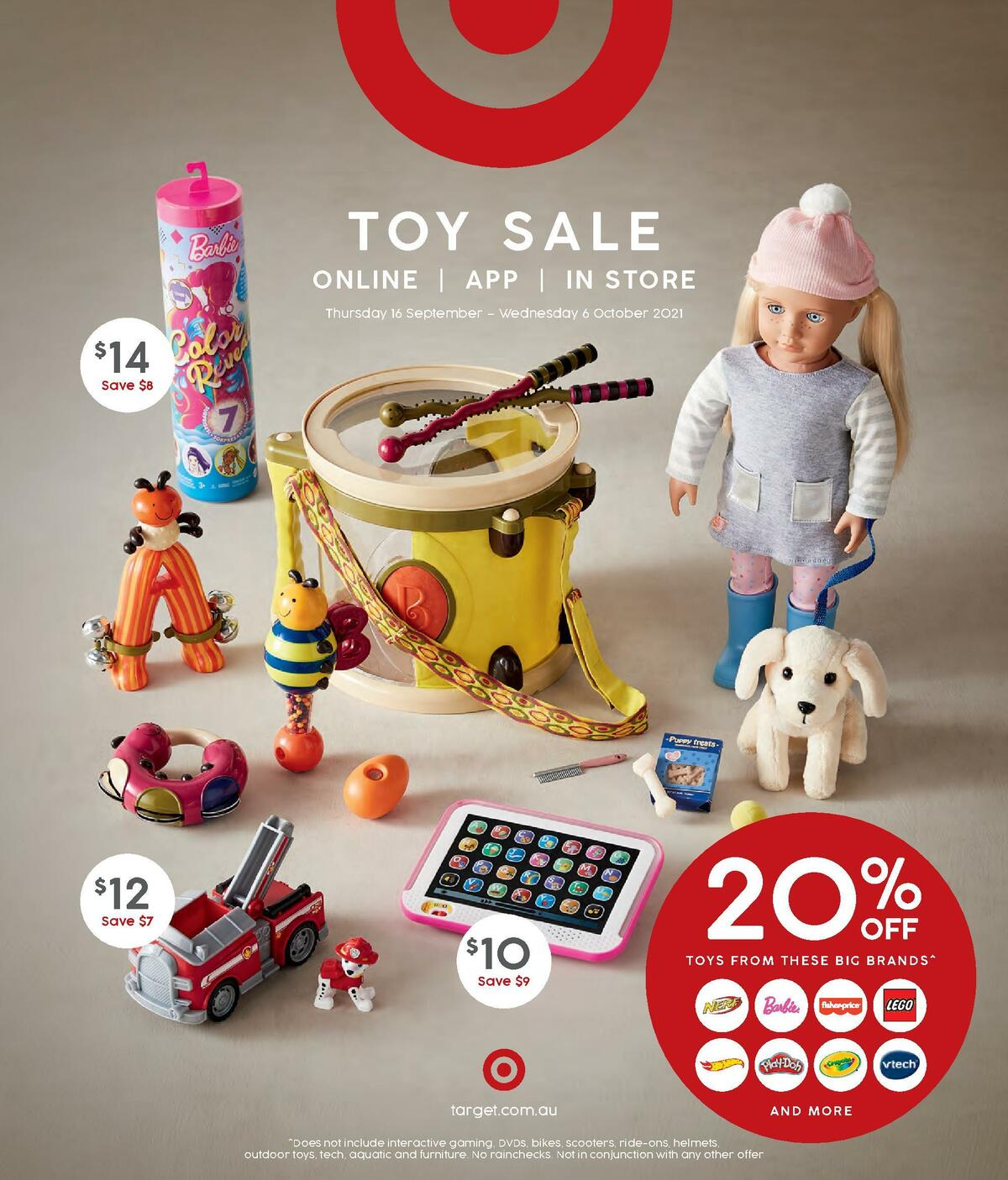 Target Toy sale Catalogues from September 16