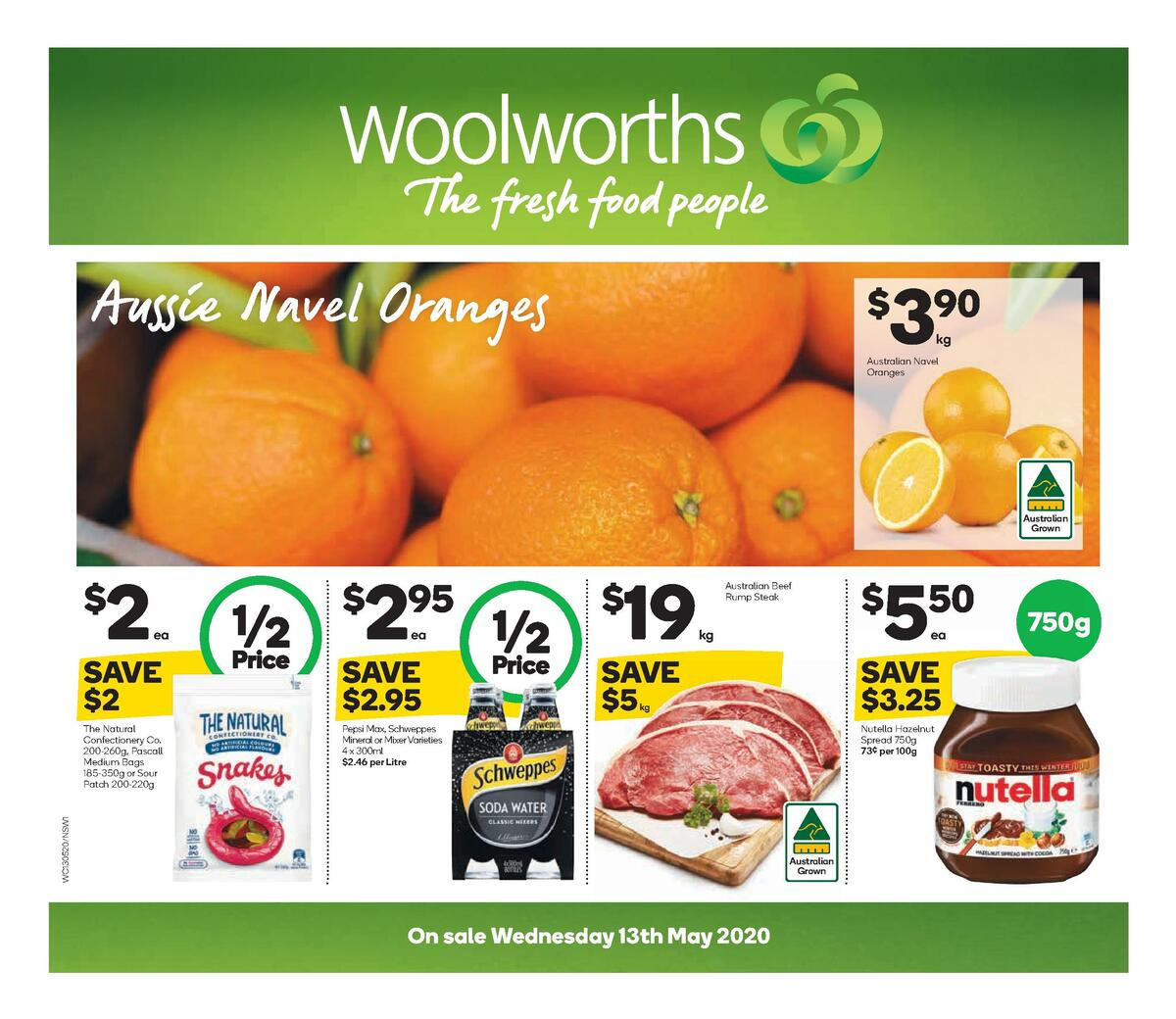 Woolworths Catalogues from May 13