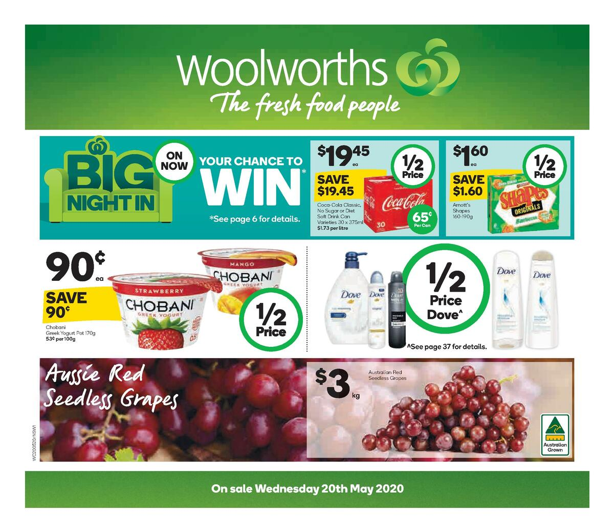 Woolworths Catalogues from May 20
