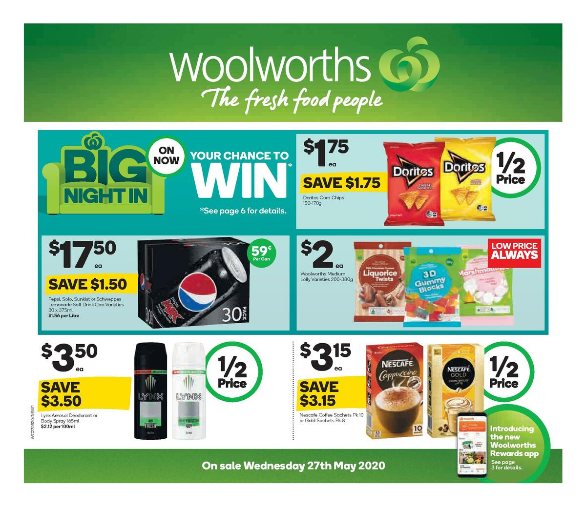 Woolworths Catalogues from May 27