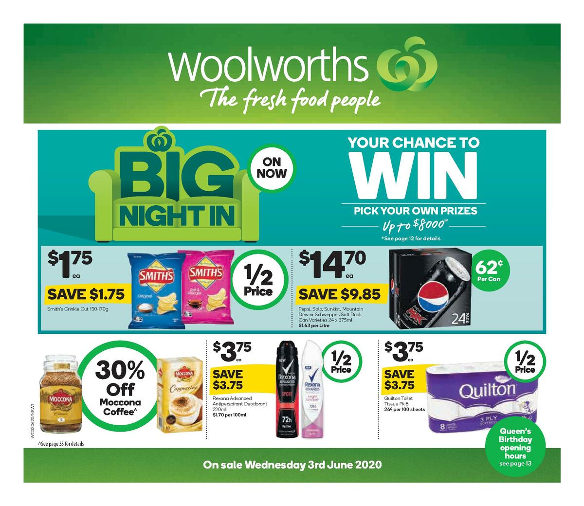 Woolworths Catalogues from June 3