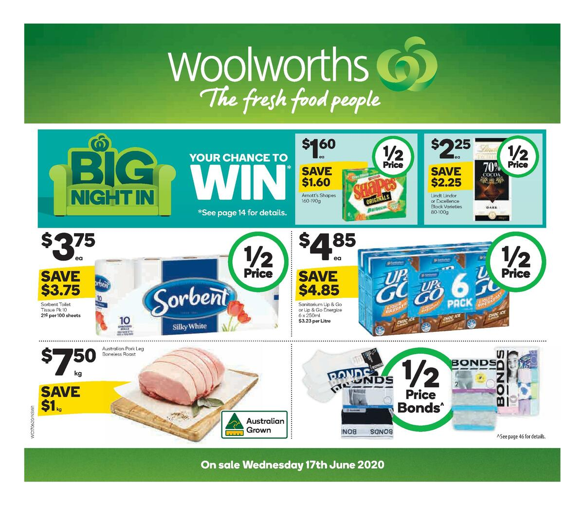Woolworths Catalogues from June 17