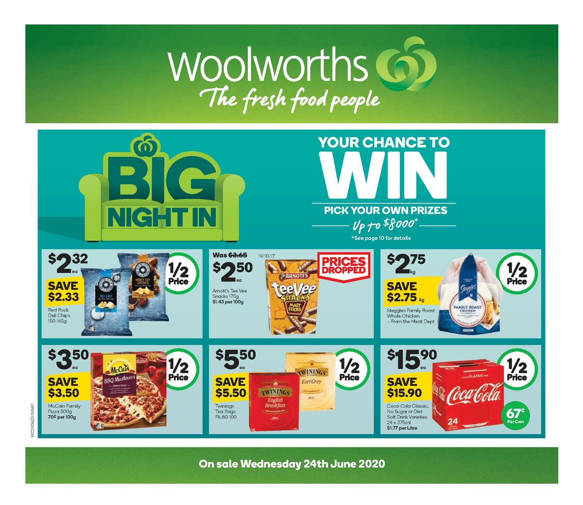 Woolworths Catalogues from June 24