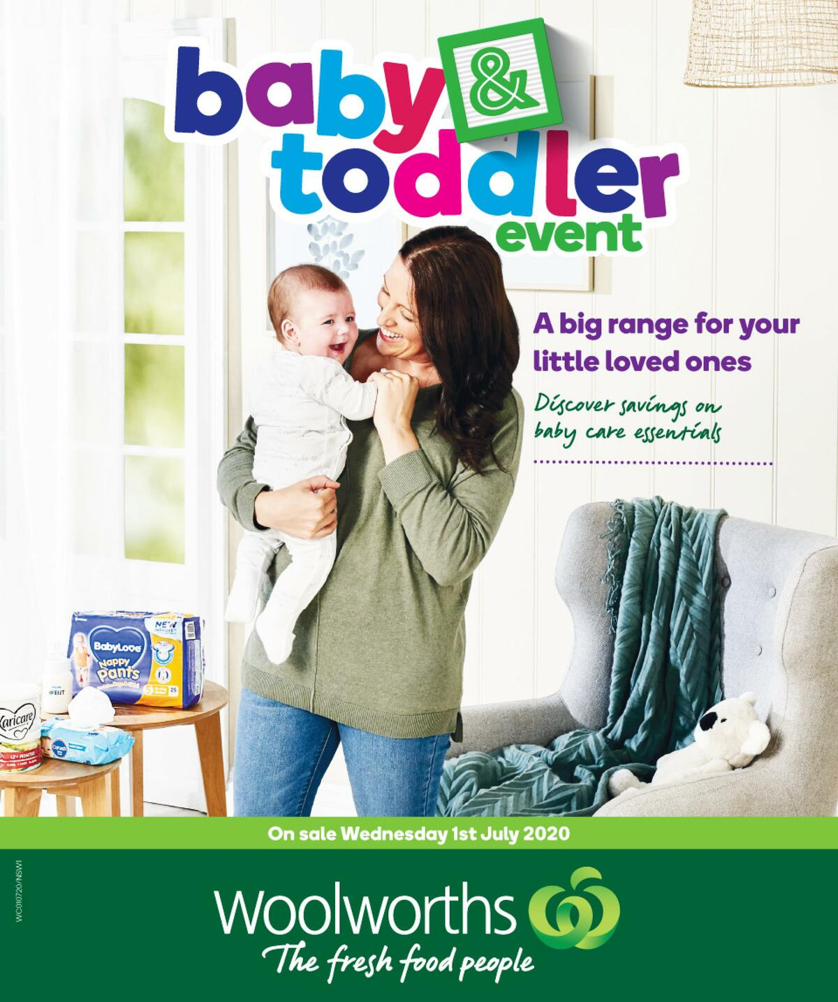 Woolworths Baby & Toddler Catalogues from July 1