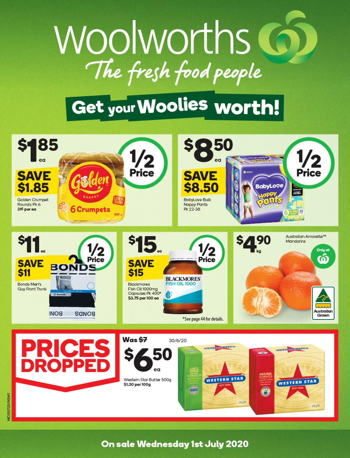 Woolworths Catalogues from July 1