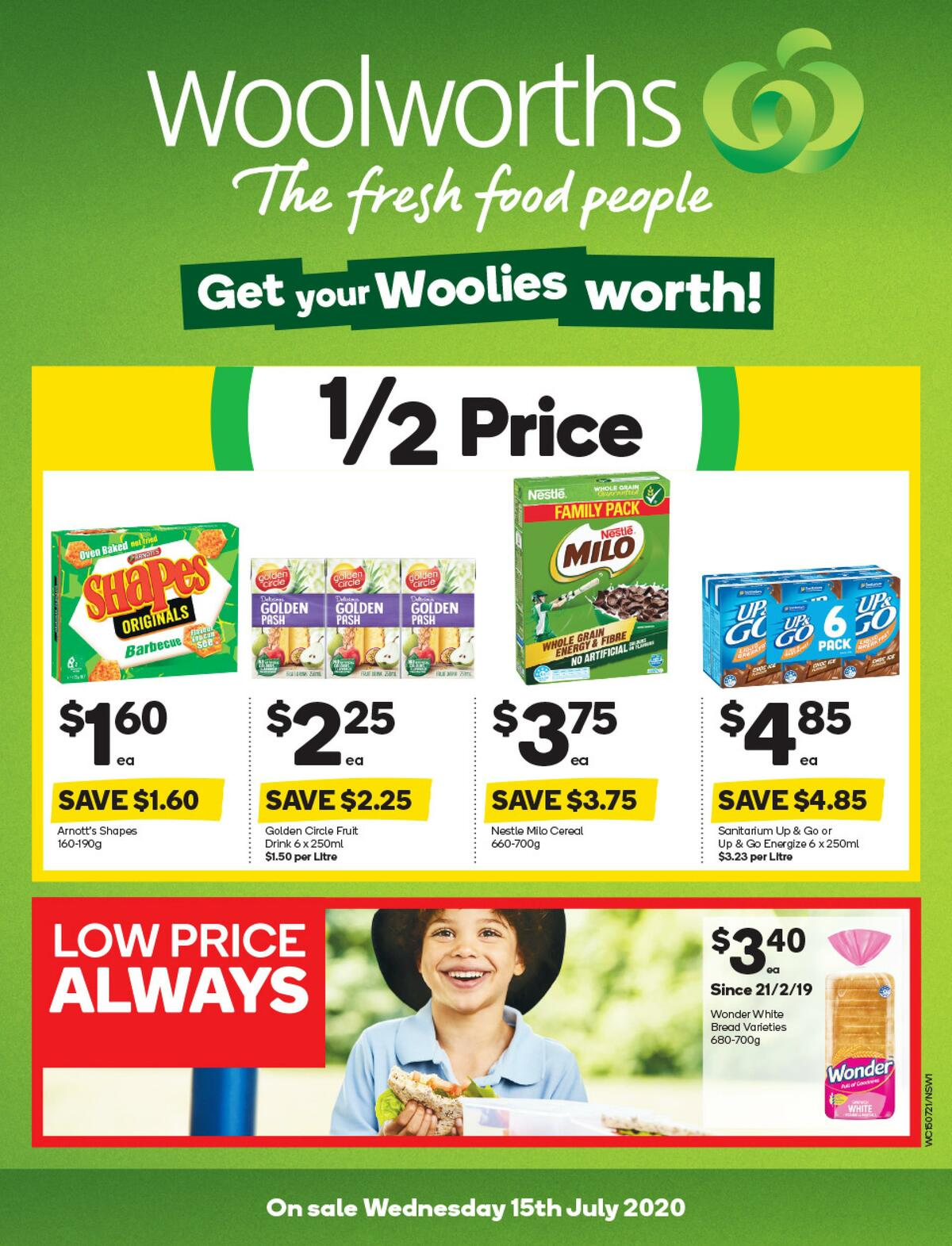 Woolworths Catalogues from July 15