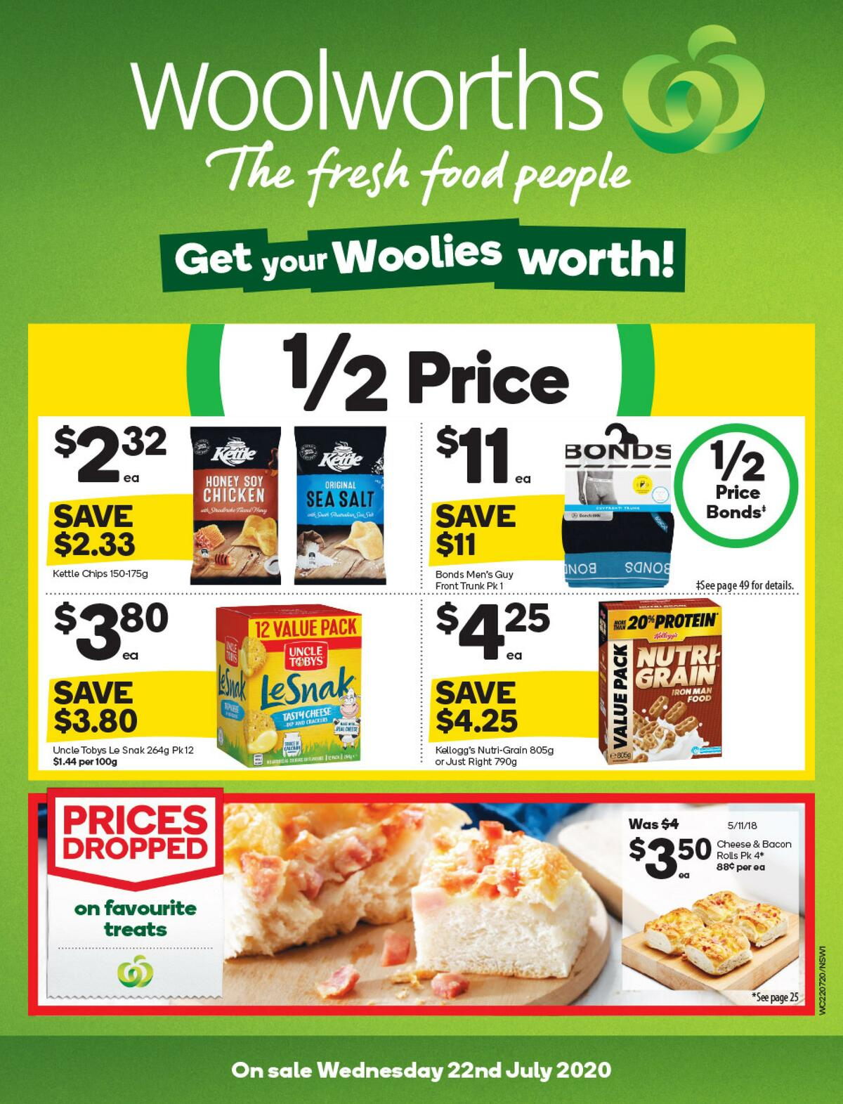 Woolworths Catalogues from July 22