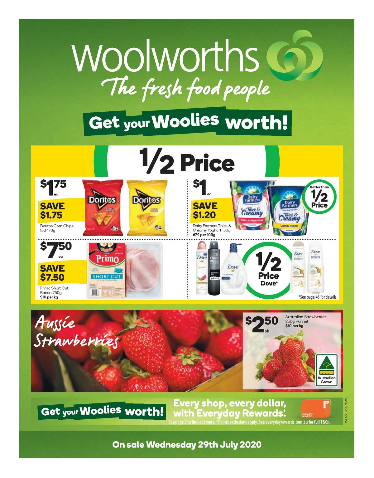 Woolworths Catalogues from July 29