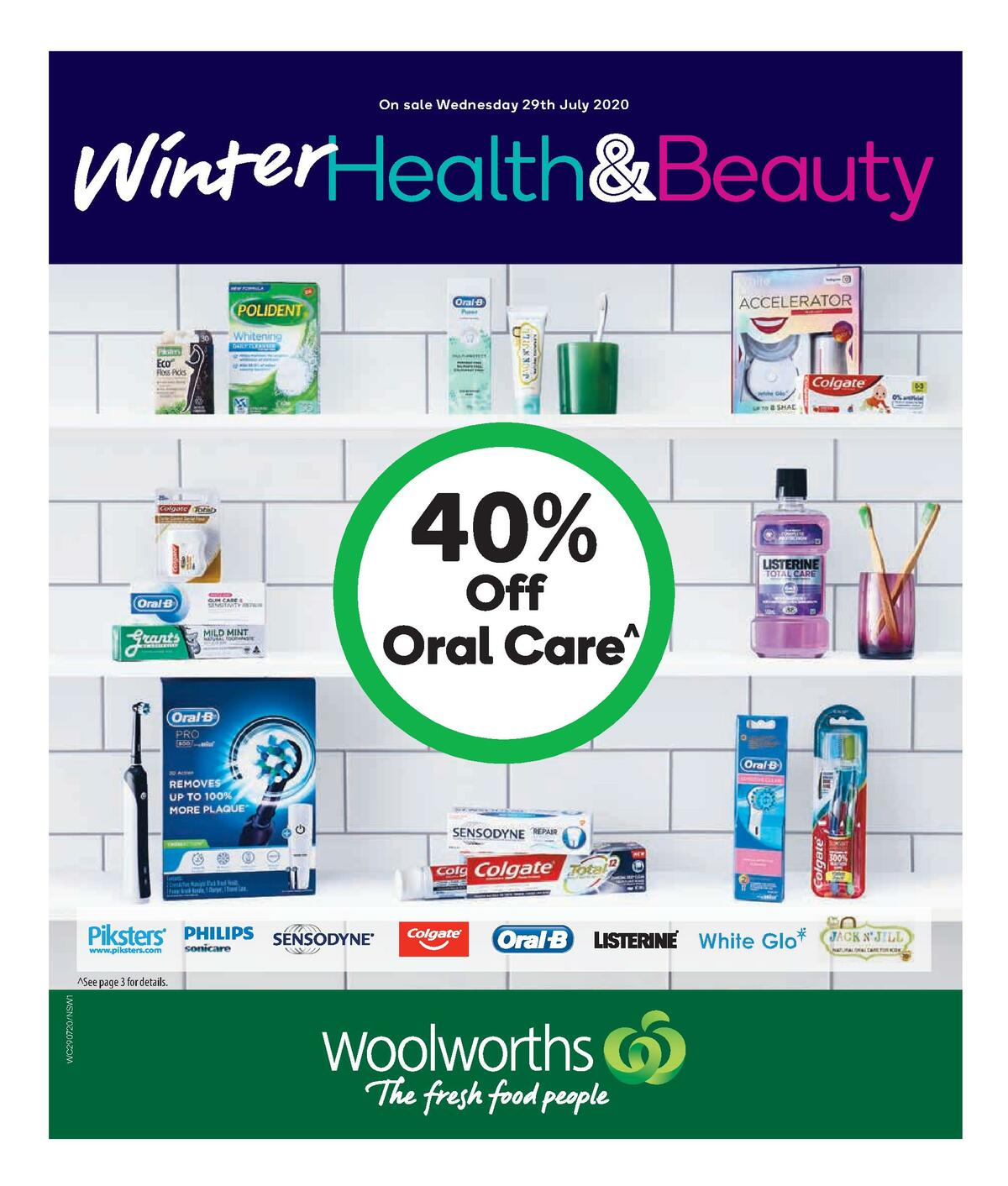 Woolworths Health & Beauty Catalogues from July 29