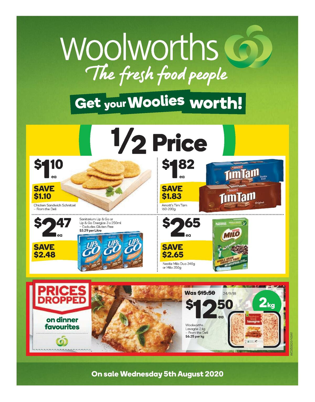 Woolworths Catalogues from August 5