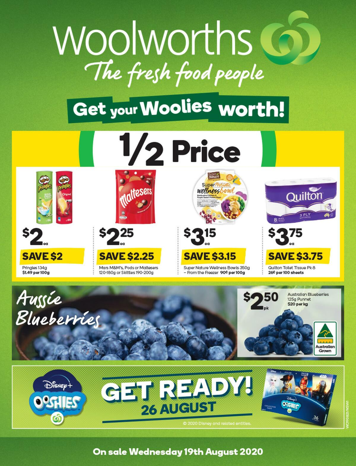 Woolworths Catalogues from August 19