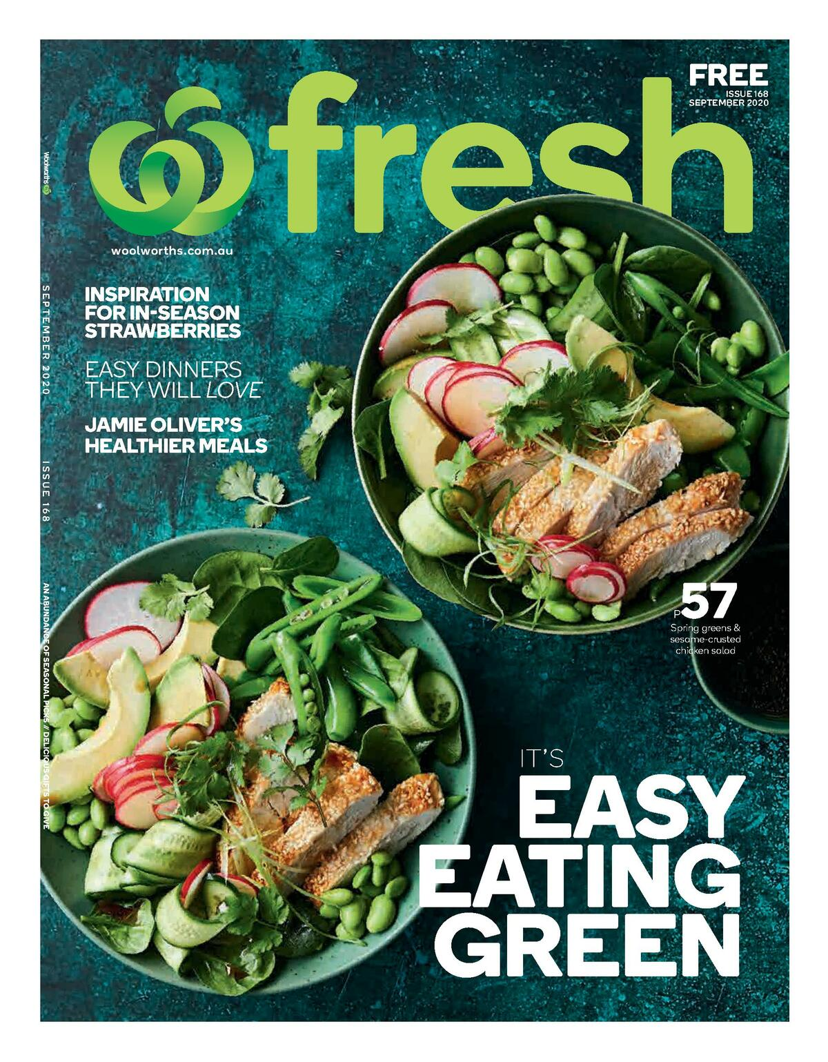 Woolworths Fresh Magazine September Catalogues from September 1