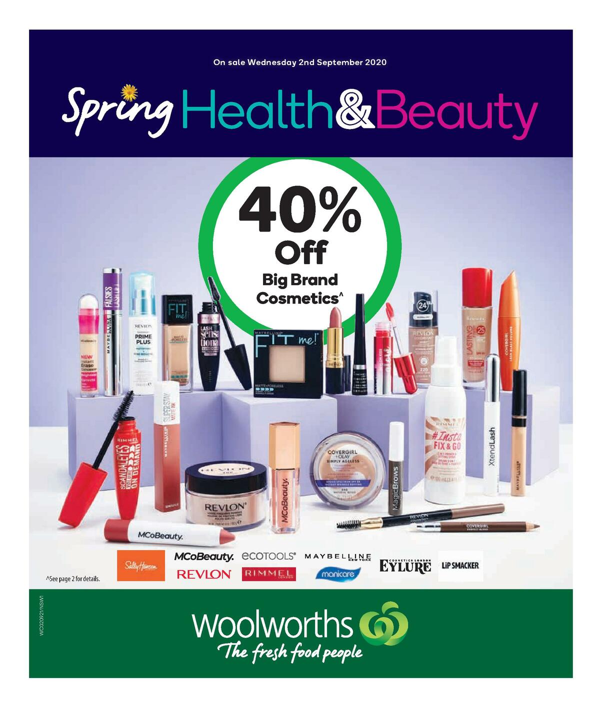 Woolworths Health & Beauty Catalogues from September 2