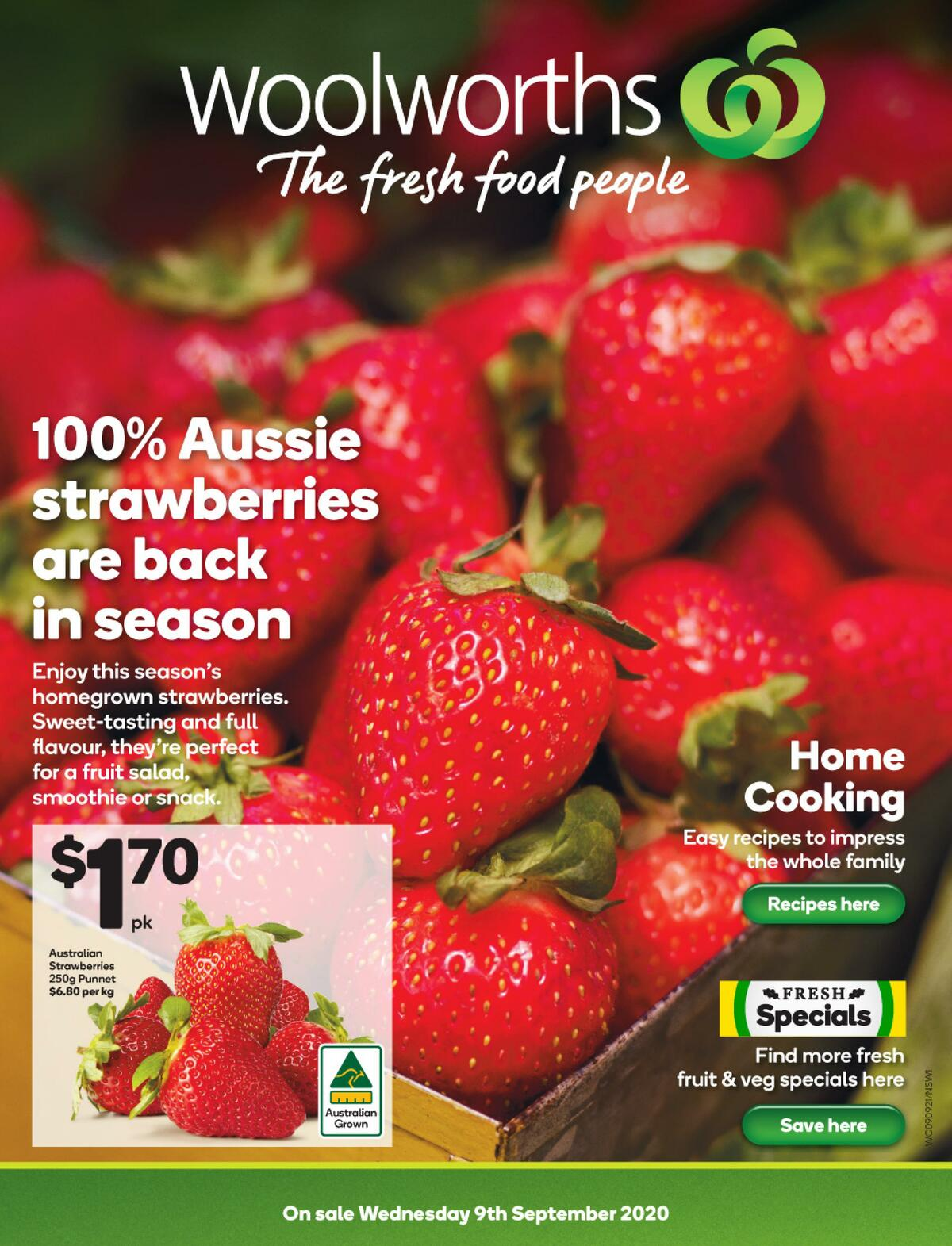 Woolworths Catalogues from September 9