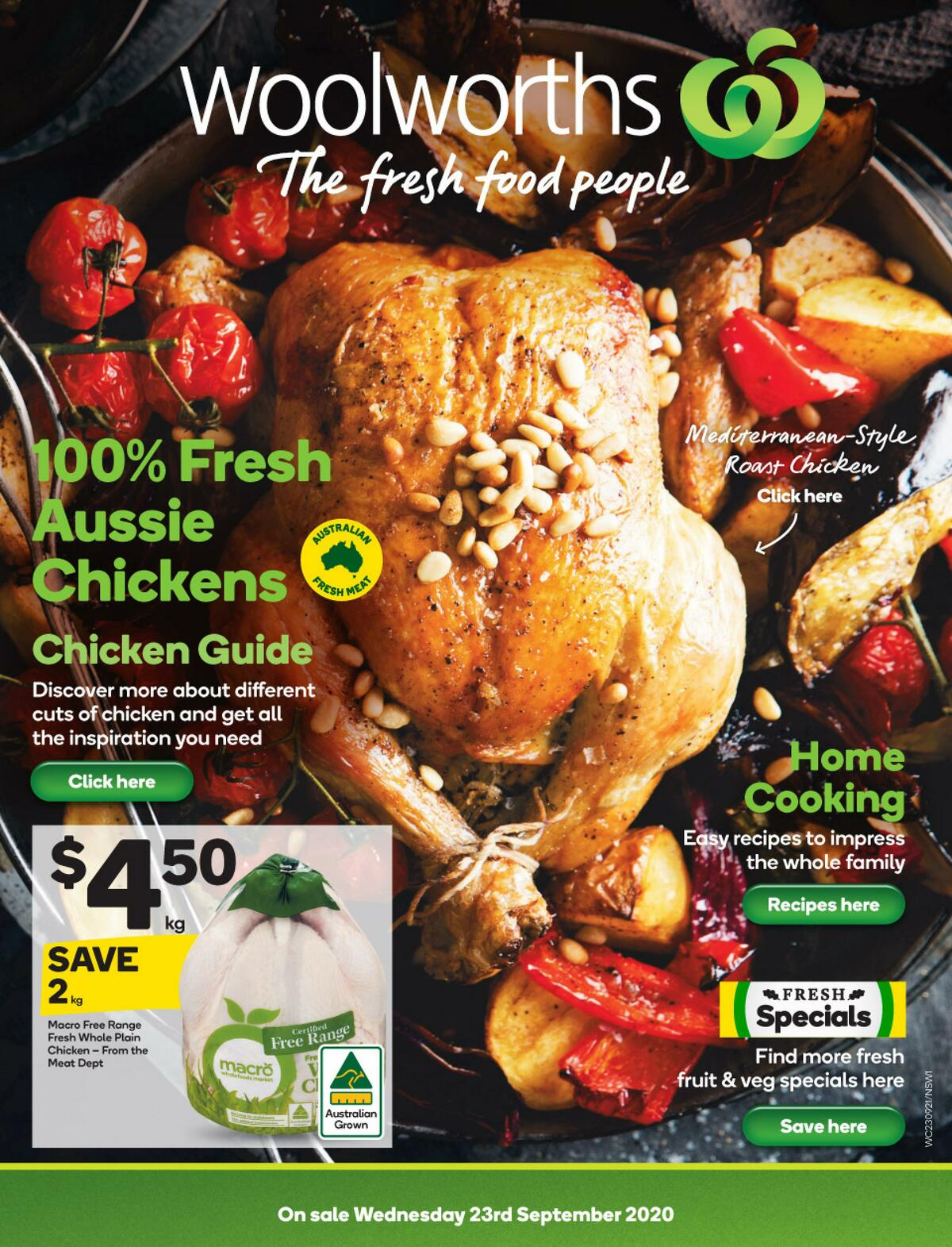 Woolworths Catalogues from September 23