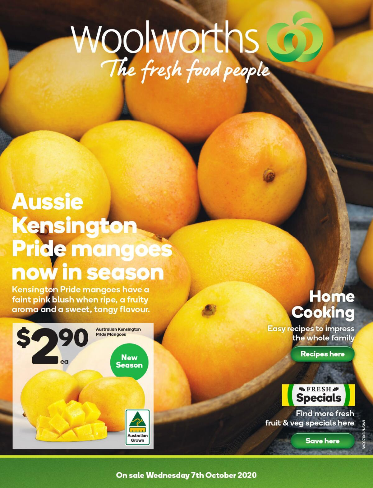 Woolworths Catalogues from October 7