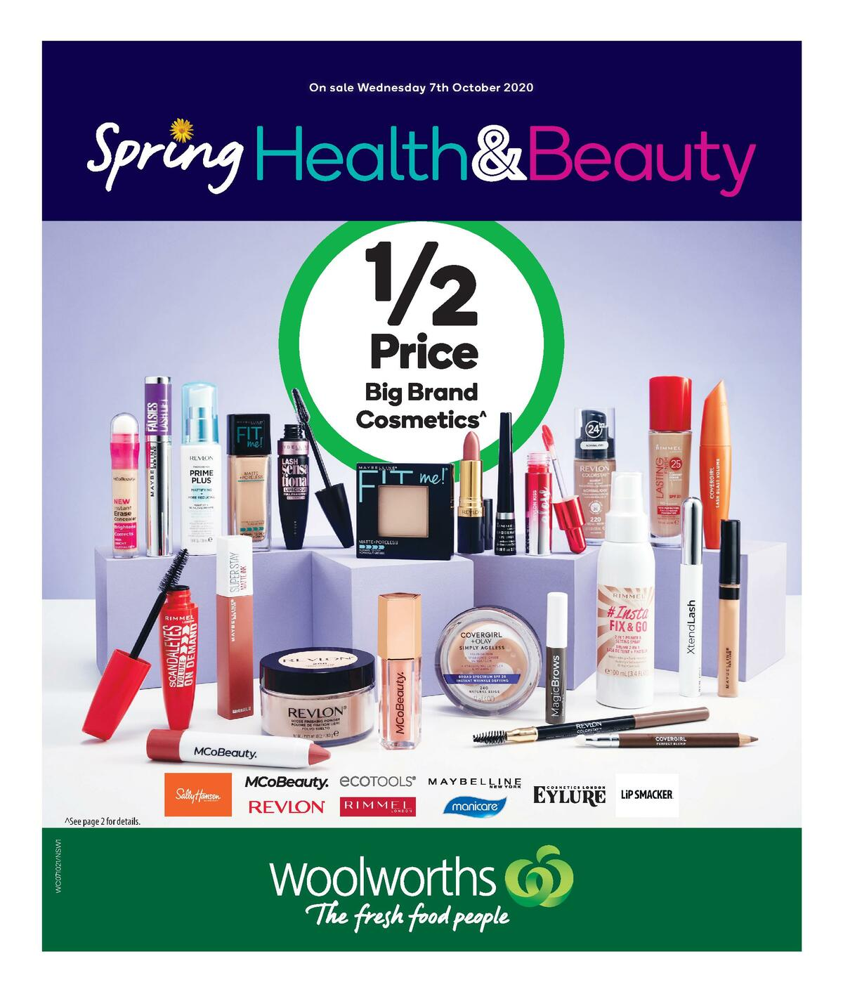 Woolworths Health & Beauty Catalogues from October 7