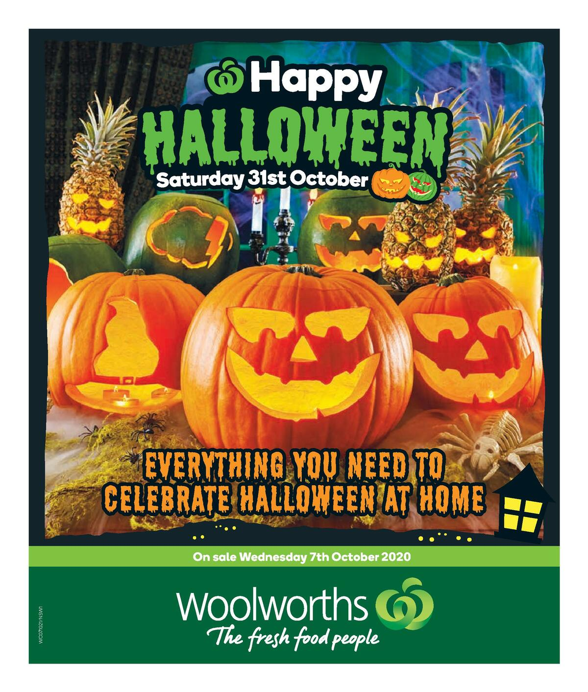 Woolworths Happy Halloween Catalogues from October 7
