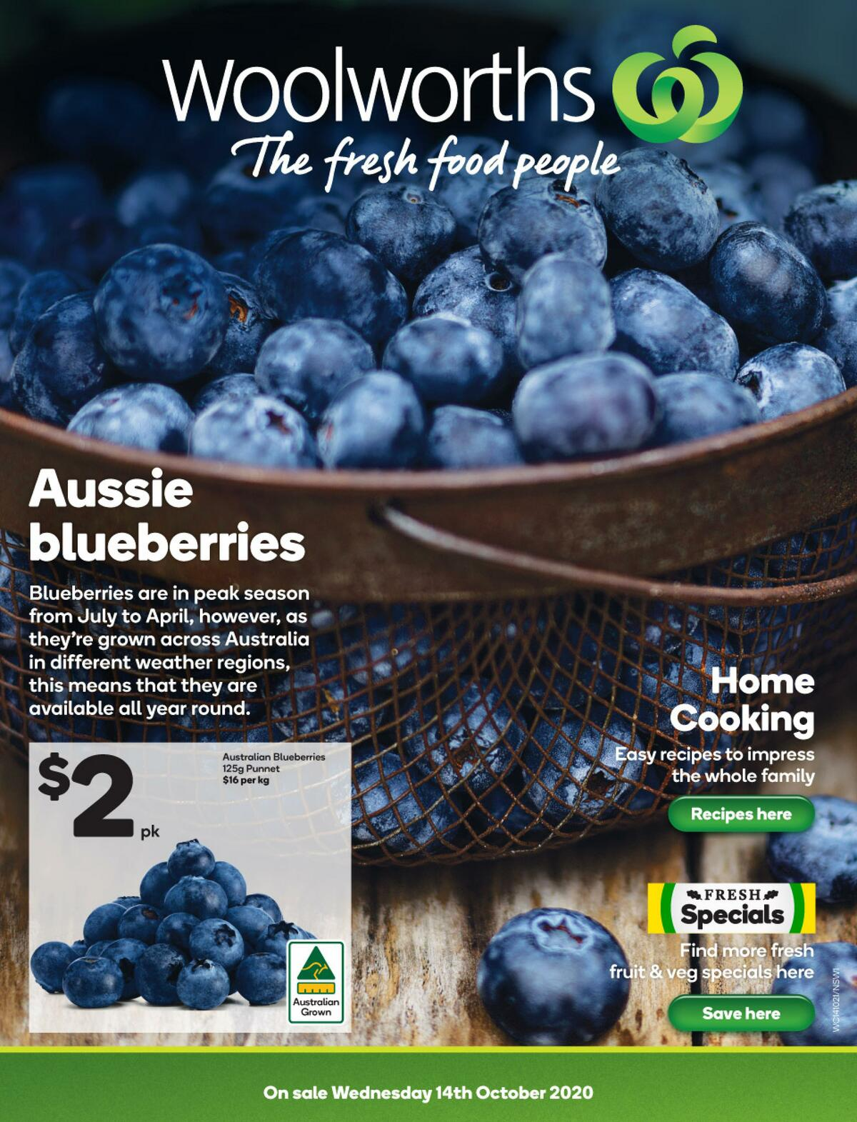 Woolworths Catalogues from October 14