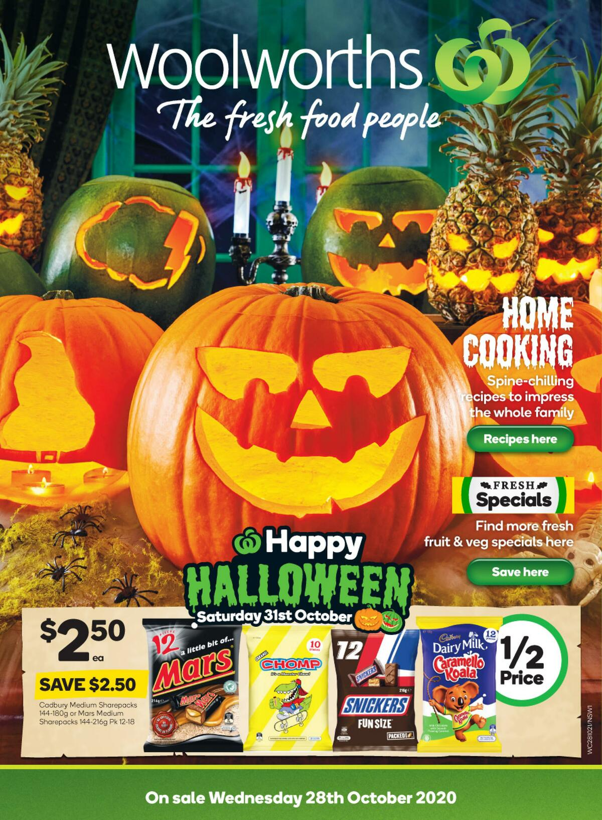 Woolworths Catalogues from October 28