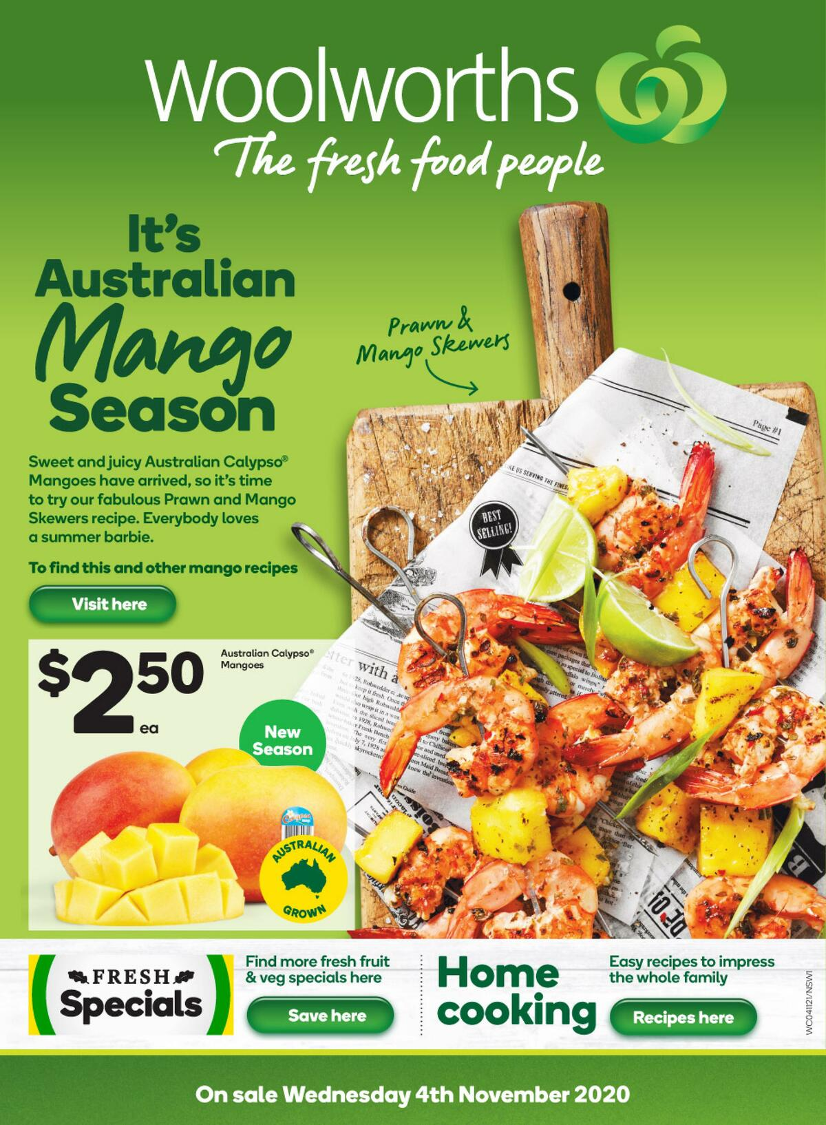 Woolworths Catalogues from November 4