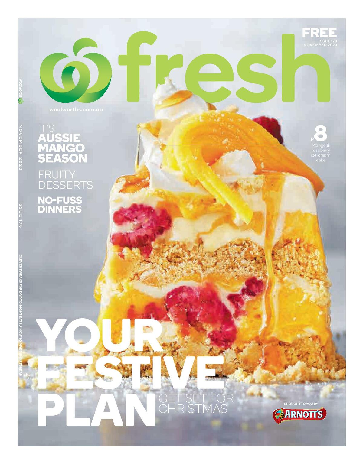 Woolworths Fresh Magazine November Catalogues from November 1