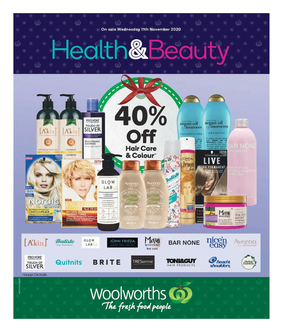 Woolworths Health & Beauty Catalogues from November 11