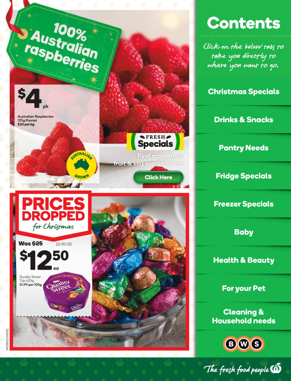 Woolworths Catalogues from November 18