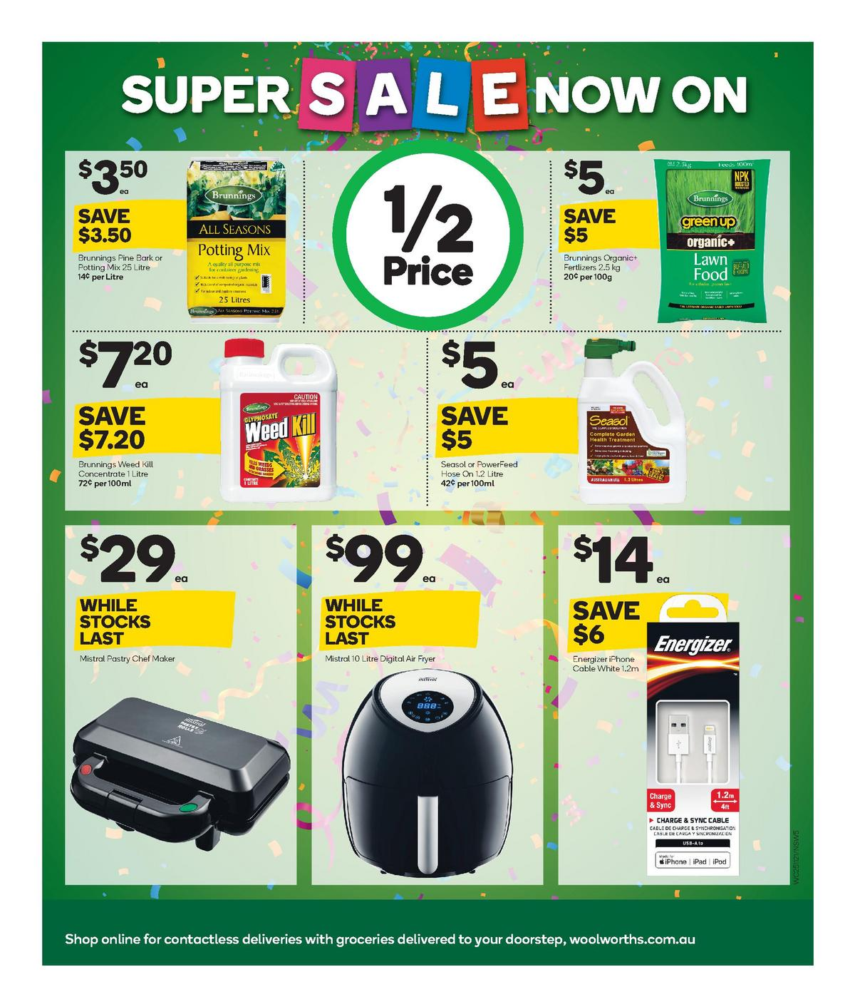 Woolworths Super Sale Catalogues from November 25