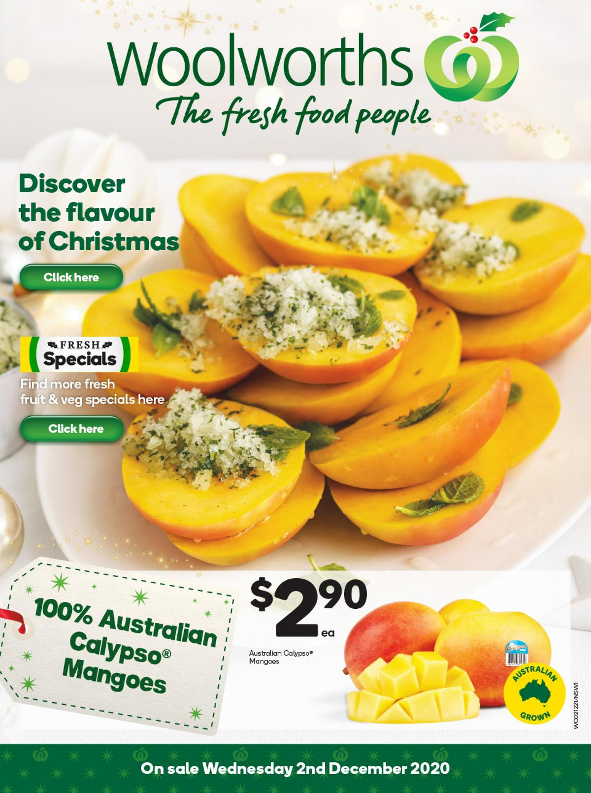 Woolworths Catalogues from December 2