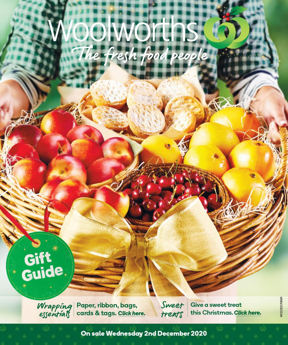 Woolworths Christmas Gift Guide Catalogues from December 2