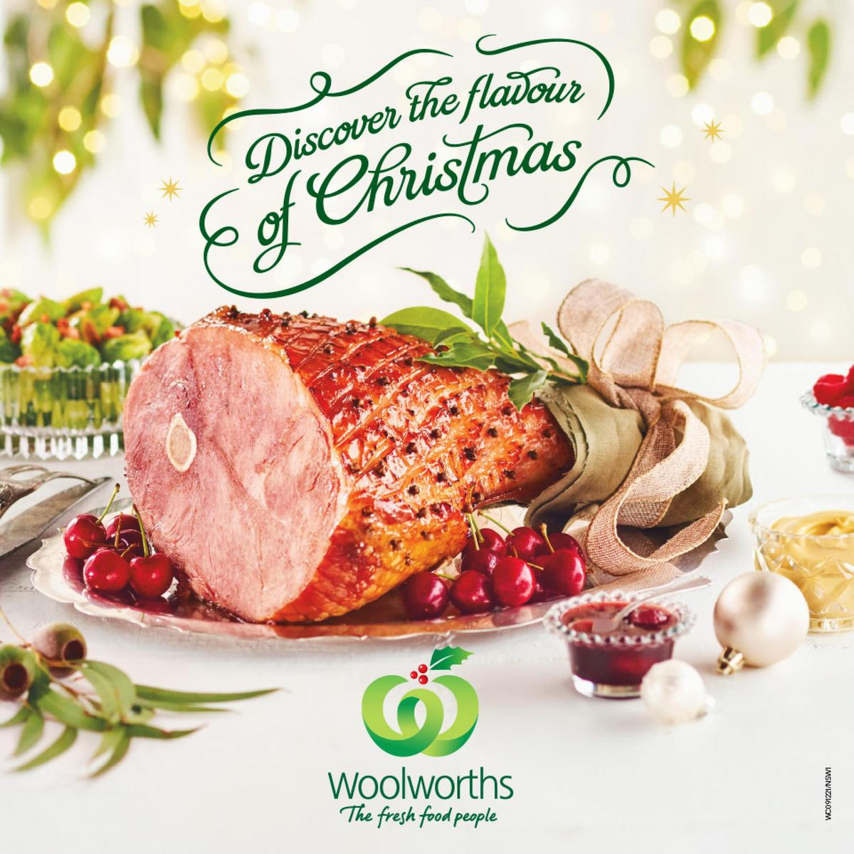 Woolworths Christmas Inspiration Guide Catalogues from December 9