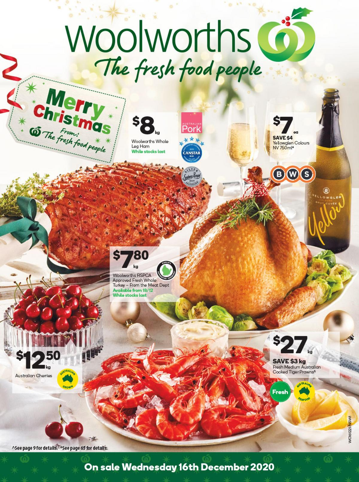 Woolworths Catalogues from December 16