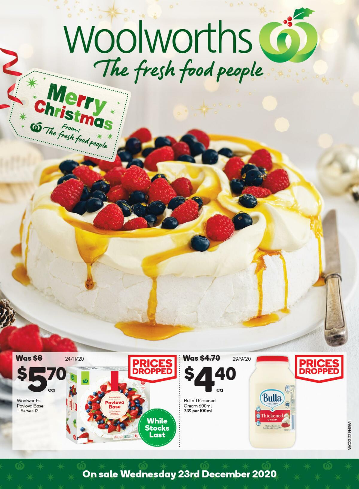 Woolworths Catalogues from December 23