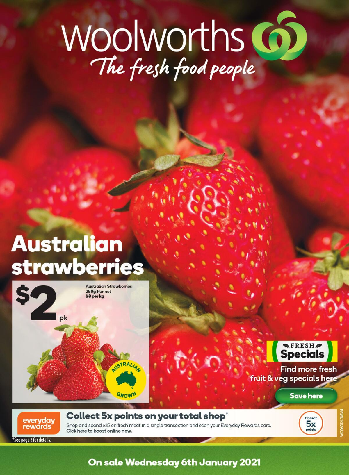 Woolworths Catalogues from January 6