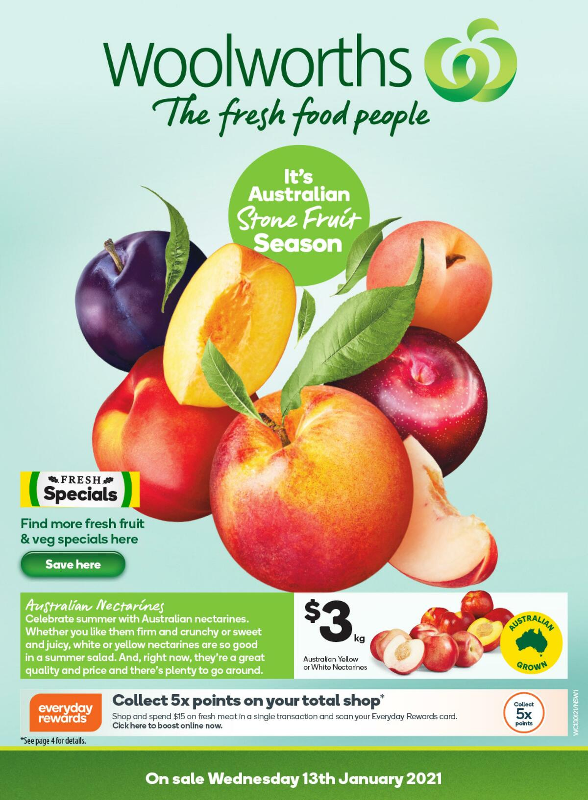Woolworths Catalogues from January 13