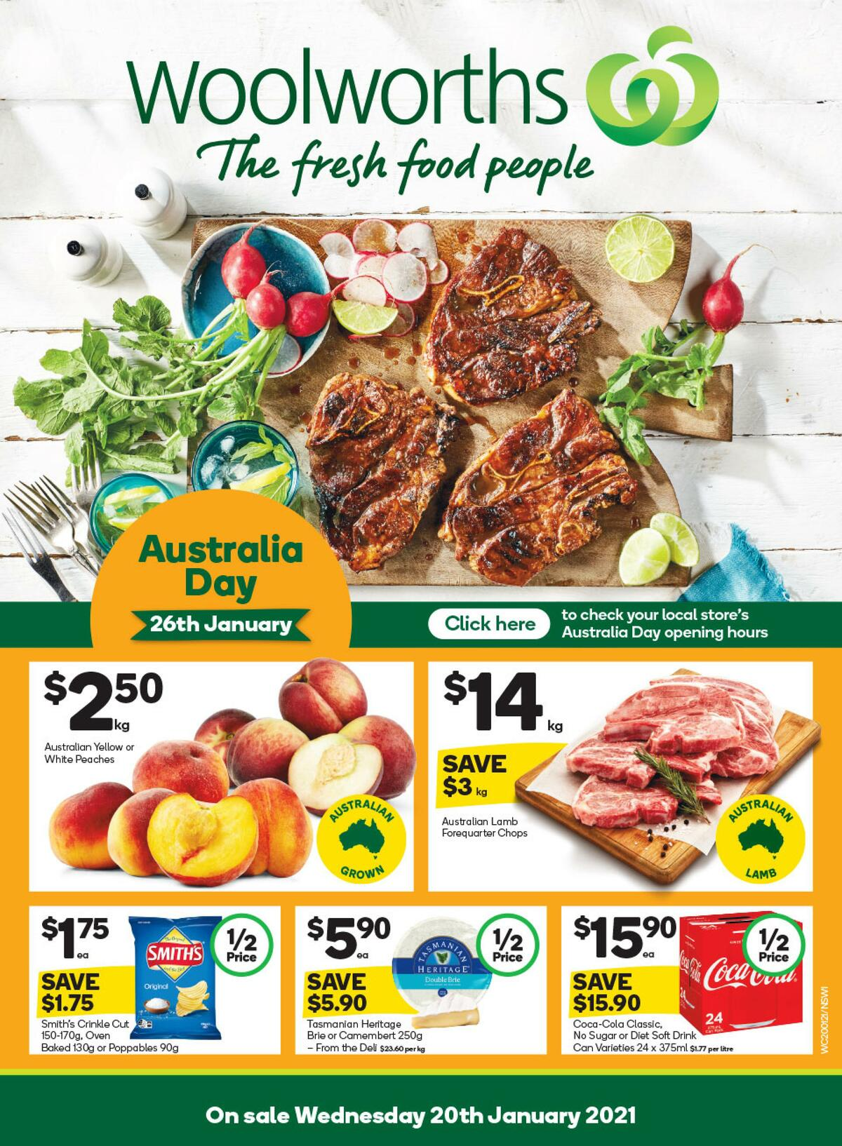 Woolworths Catalogues from January 20