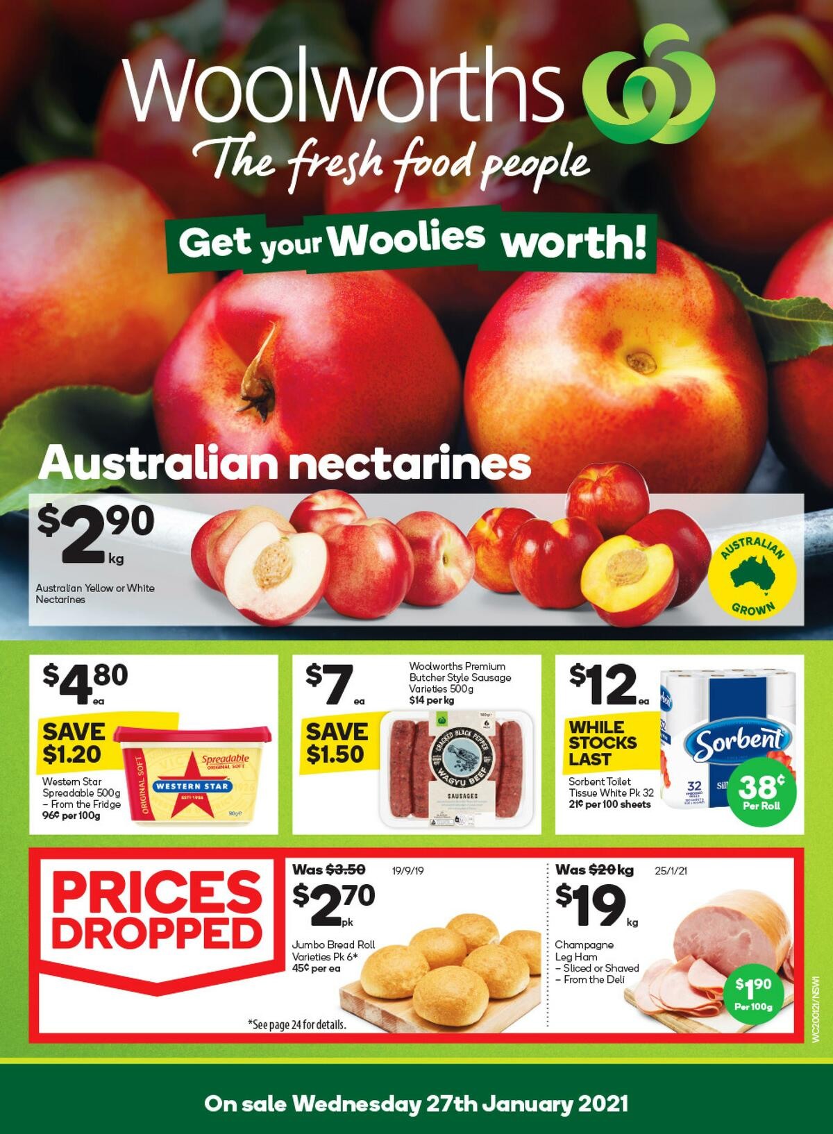 Woolworths Catalogues from January 27